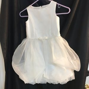 David's Bridal flower girl dress Size 5